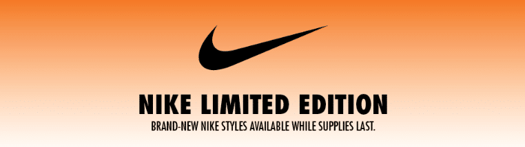 FASHION ALERT: Limited Edition Nike Products